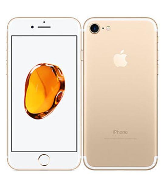 【中古】【安心保証】 iPhone7[128GB] SIMフリー ゴールド