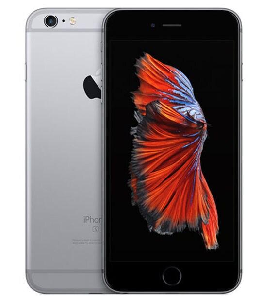 【中古】【安心保証】 iPhone6sPlus[64GB] docomo FKU62J スペースグレイ