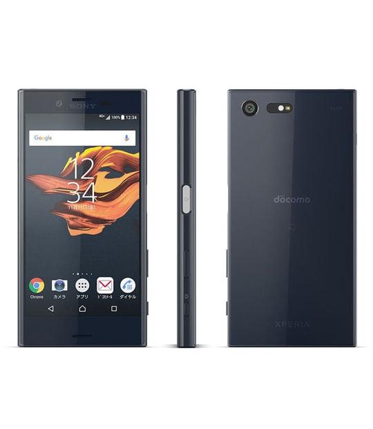 【中古】【安心保証】 XperiaX Compact SO-02J[32GB] docomo ユニバースブラック