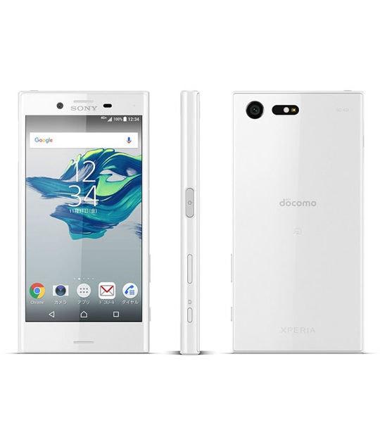 【中古】【安心保証】 XperiaX Compact SO-02J[32GB] docomo ホワイト