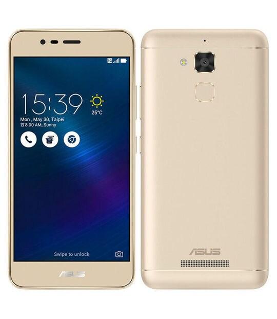 【中古】【安心保証】 SIMフリー ZenFone3Max[16G] ゴールド