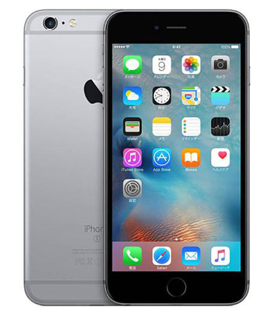 【中古】【安心保証】 iPhone6s[32GB] docomo MN0W2J スペースグレイ