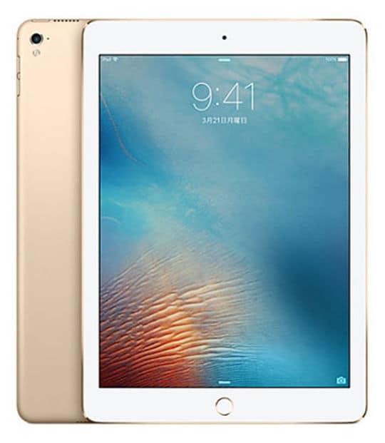 【中古】【安心保証】 iPad 9.7インチ 第5世代[32GB] セルラー docomo ゴールド