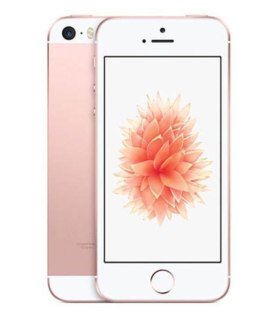 【中古】【安心保証】 iPhoneSE[32GB] UQモバイル MP852J ローズゴールド