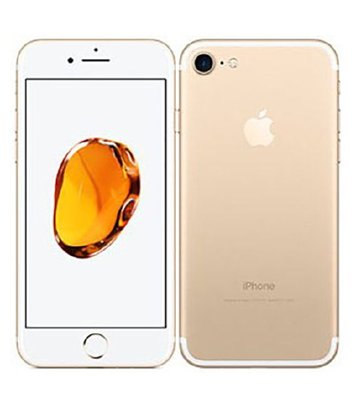 【中古】【安心保証】 iPhone7[256GB] SIMフリー ゴールド