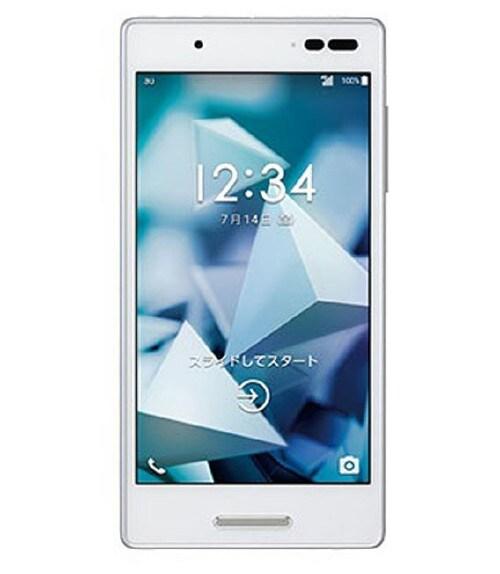 【中古】【安心保証】 UQモバイル KYV42 ホワイト