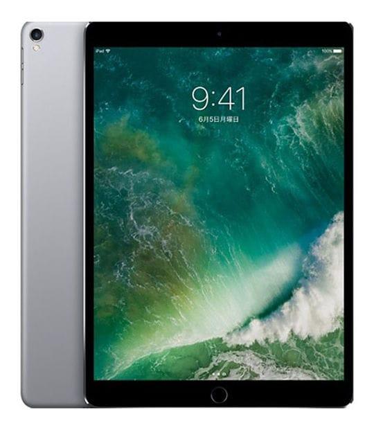 【中古】【安心保証】 iPadPro 10.5インチ 第1世代[256GB] セルラー au スペースグレイ