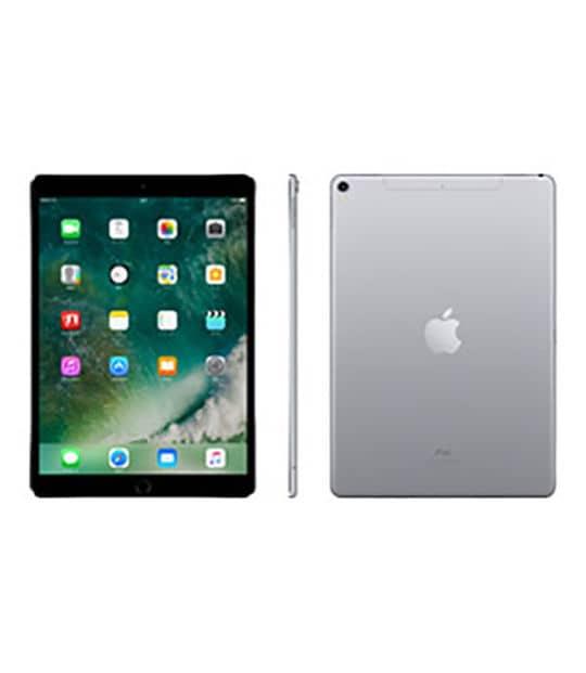【中古】【安心保証】 iPadPro 10.5インチ 第1世代[256GB] SIMフリー スペースグレイ