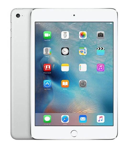 【中古】【安心保証】 iPadmini4 7.9インチ[128GB] Wi-Fiモデル シルバー