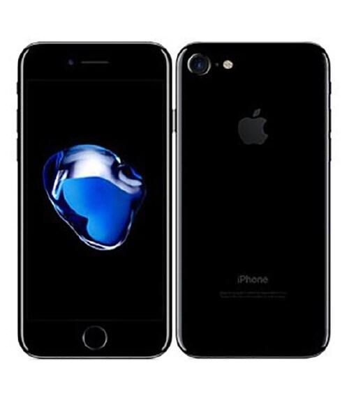 【中古】【安心保証】 SoftBank iPhone7[256G BT] ジェットブラック