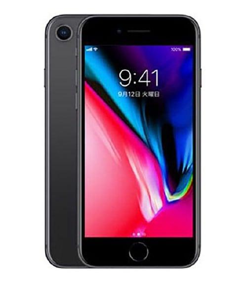 【中古】【安心保証】 iPhone8[256GB] au MQ842J スペースグレイ