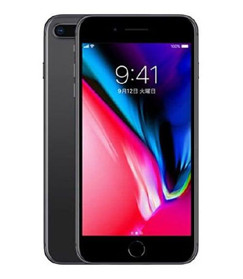 【中古】【安心保証】 iPhone8Plus[256GB] au MQ9N2J スペースグレイ