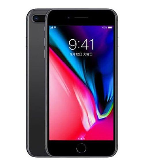 【中古】【安心保証】 iPhone8Plus[64GB] SIMフリー スペースグレイ