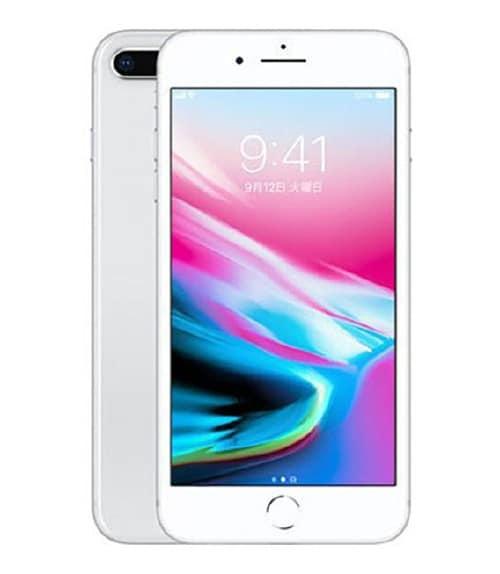 【中古】【安心保証】 iPhone8Plus[256GB] SIMフリー シルバー