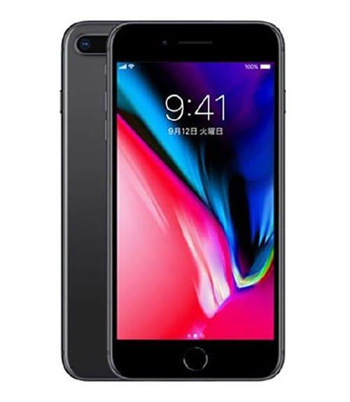 【中古】【安心保証】 iPhone8Plus[256GB] SIMフリー スペースグレイ