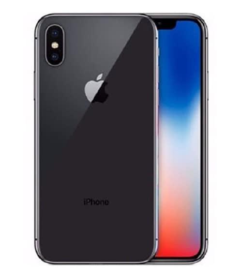 【中古】【安心保証】 iPhoneX[64GB] docomo MQAX2J スペースグレイ