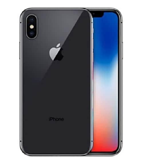 【中古】【安心保証】 iPhoneX[256GB] docomo MQC12J スペースグレイ