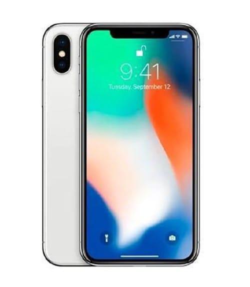【中古】【安心保証】 iPhoneX[256GB] docomo NQC22J シルバー