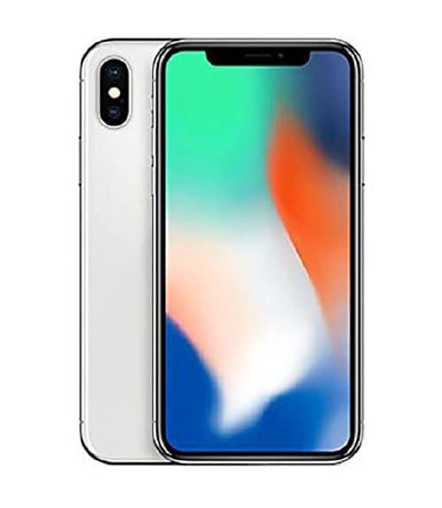 【中古】【安心保証】 iPhoneX[64GB] au NQAY2J シルバー