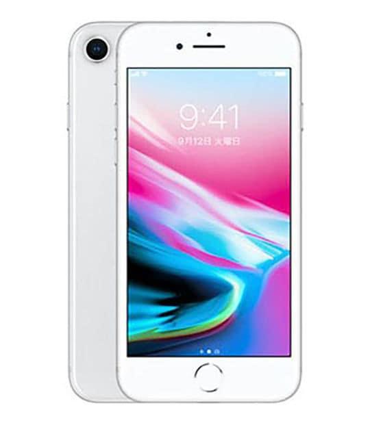 【中古】【安心保証】 iPhone8[64GB] docomo NQ792J シルバー