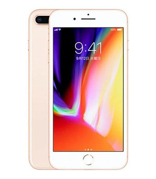 【中古】【安心保証】 iPhone8Plus[64GB] au NQ9M2J ゴールド