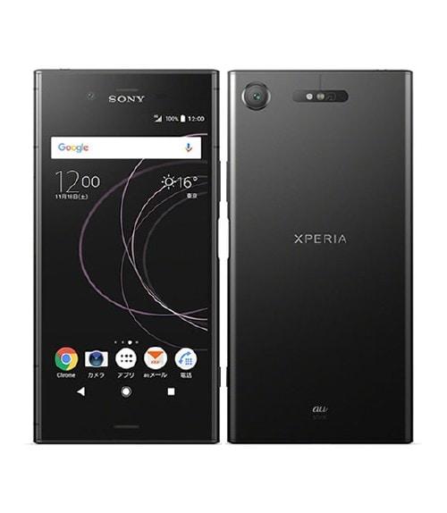 【中古】【安心保証】 Xperia XZ1 SOV36[64GB] au ブラック