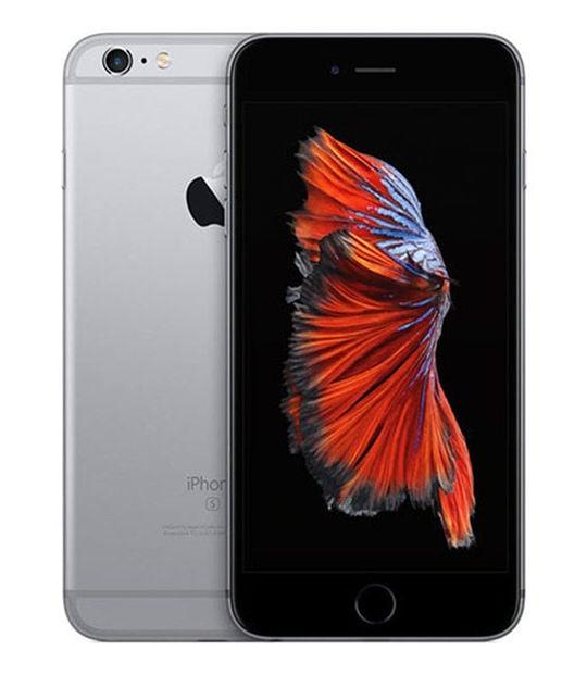 【中古】【安心保証】 iPhone6sPlus[64GB] SIMロック解除 docomo スペースグレイ