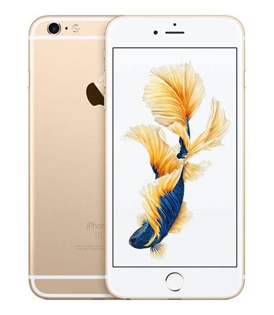 【中古】【安心保証】 iPhone6sPlus[128GB] SIMロック解除 docomo ゴールド