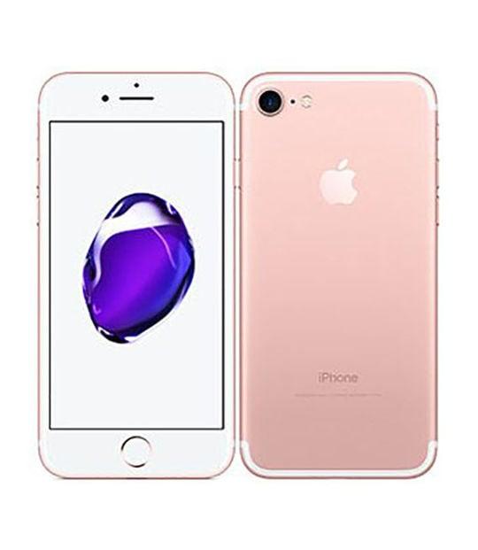 【中古】【安心保証】 iPhone7[256GB] SIMロック解除 docomo ローズゴールド