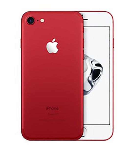 【中古】【安心保証】 iPhone7[128GB] SIMロック解除 SoftBank レッド