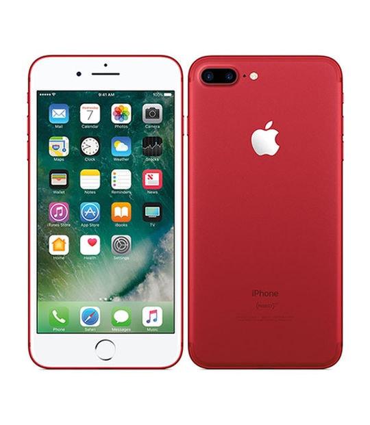 【中古】【安心保証】 iPhone7Plus[128GB] SIMロック解除 SoftBank レッド