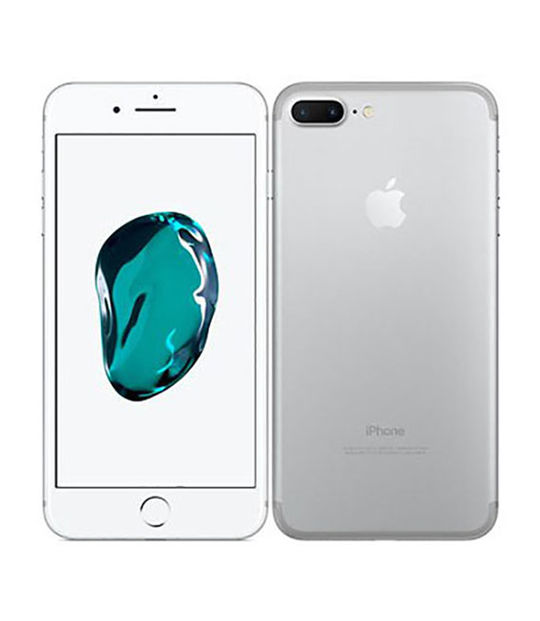 【中古】【安心保証】 iPhone7Plus[256GB] SIMロック解除 SoftBank シルバー
