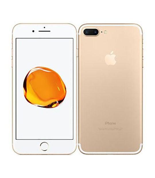 【中古】【安心保証】 iPhone7Plus[256GB] SIMロック解除 SoftBank ゴールド