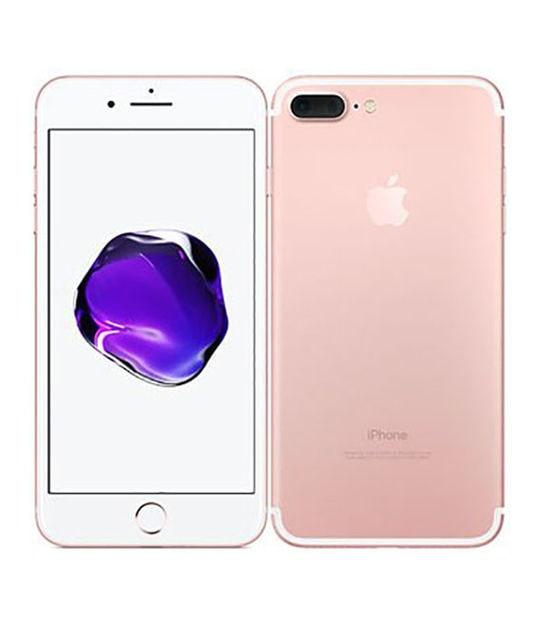 【中古】【安心保証】 iPhone7Plus[128GB] SIMロック解除 SoftBank ローズゴールド