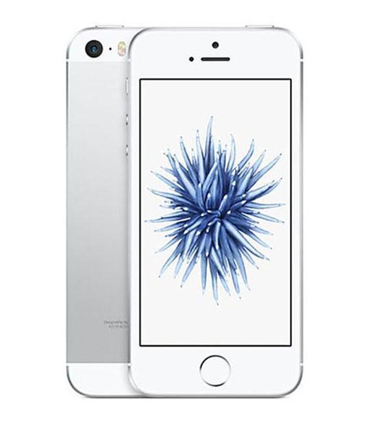 【中古】【安心保証】 iPhoneSE[16GB] SIMロック解除 docomo シルバー