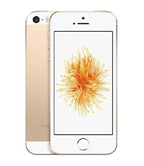 【中古】【安心保証】 iPhoneSE[128GB] au MP882J ゴールド