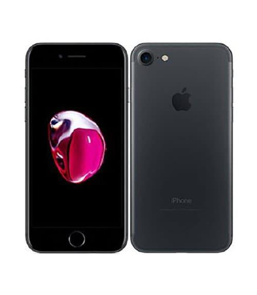 【中古】【安心保証】 iPhone7[256GB] au MNCQ2J ブラック