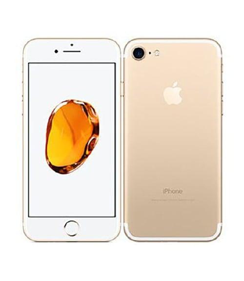 【中古】【安心保証】 iPhone7[128GB] au MNCM2J ゴールド