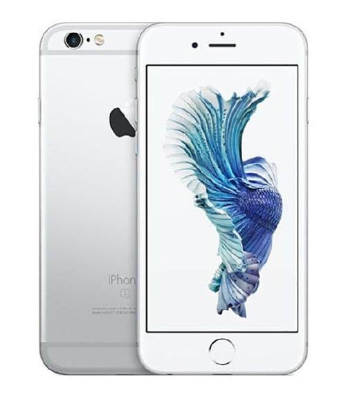 【中古】【安心保証】 au iPhone6s[64G] シルバー