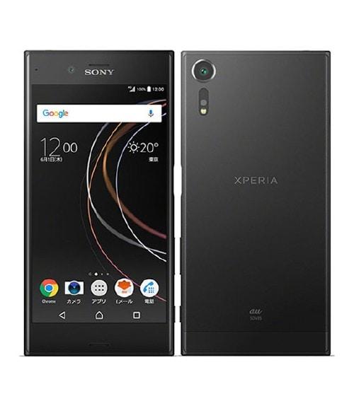 【中古】【安心保証】 Xperia XZs SOV35[32GB] au ブラック