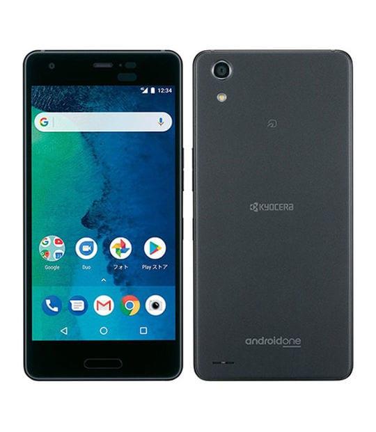 【中古】【安心保証】 Y!mobile Android One X3 ブラック