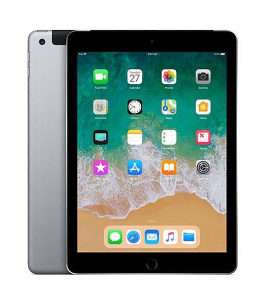 【中古】【安心保証】 iPad 9.7インチ 第6世代[128GB] セルラー SoftBank スペースグレイ