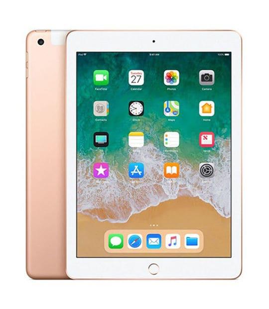 【中古】【安心保証】 iPad 9.7インチ 第6世代[32GB] セルラー au ゴールド