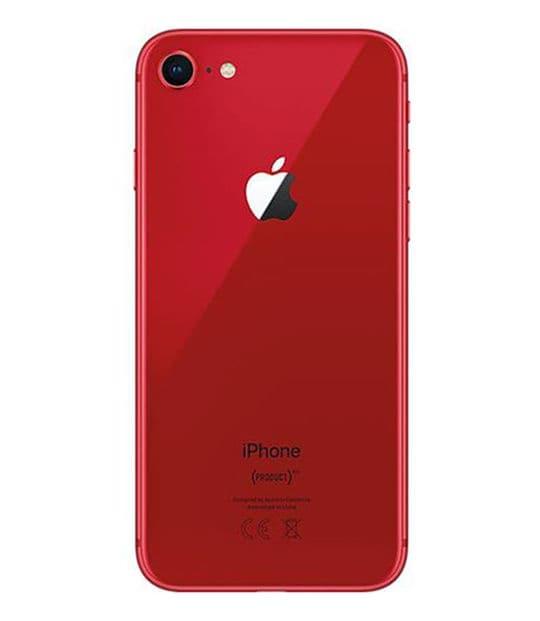 【中古】【安心保証】 iPhone8[64GB] docomo MRRY2J レッド