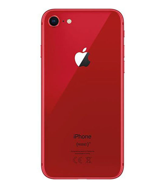 【中古】【安心保証】 iPhone8[256GB] SIMロック解除 au レッド