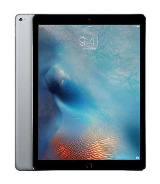 【中古】【安心保証】 iPadPro-12.9_1[海外WiFi128G] グレイ