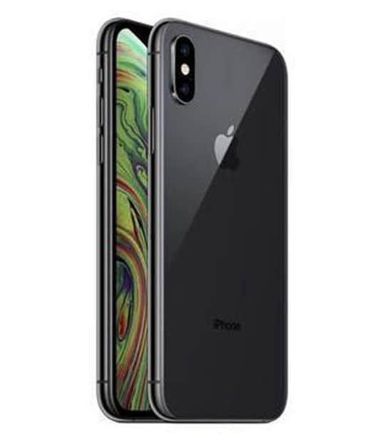 【中古】【安心保証】 iPhoneXS[64GB] au MTAW2J スペースグレイ