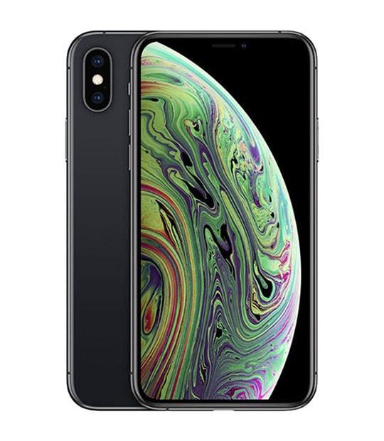 【中古】【安心保証】 iPhoneXS[256GB] SIMロック解除 au スペースグレイ
