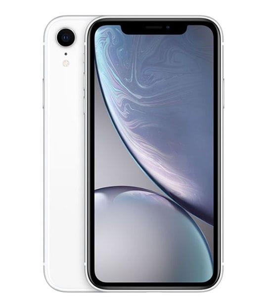 【中古】【安心保証】 iPhoneXR[128GB] docomo MT0J2J ホワイト