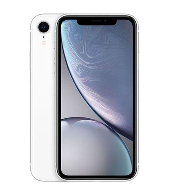 【中古】【安心保証】 iPhoneXR[128GB] SIMロック解除 au ホワイト